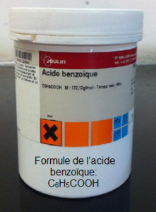 L'acide benzoïque